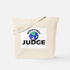 World's Best Judge Tote Bag