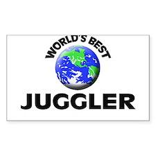 World's Best Juggler Decal