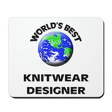 World's Best Knitwear Designer Mousepad