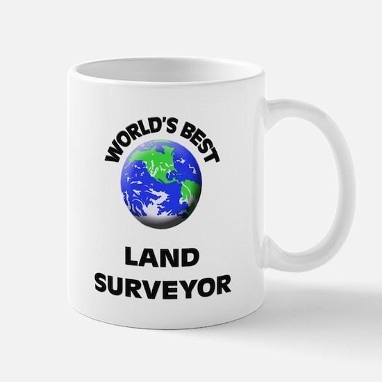 World's Best Land Surveyor Mug
