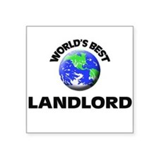 World's Best Landlord Sticker