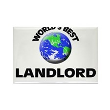 World's Best Landlord Rectangle Magnet