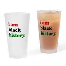 I Am Black History Drinking Glass
