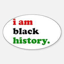 I Am Black History Decal