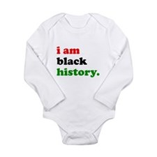 I Am Black History Body Suit
