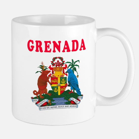 Grenada Coat Of Arms Designs Mug