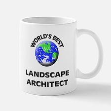 World's Best Landscape Architect Mug