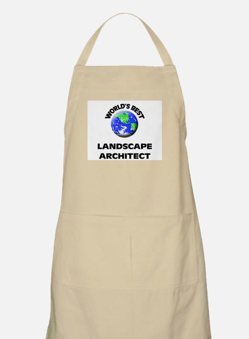World's Best Landscape Architect Apron