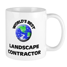 World's Best Landscape Contractor Mug