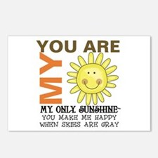You Are My Sunshine Postcards (Package of 8)