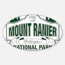 Mt Ranier NP Sticker (Oval)