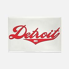 Detroit MI Rectangle Magnet