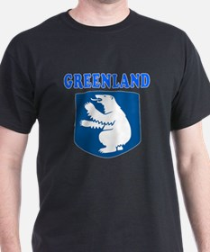 Greenland Coat Of Arms Designs T-Shirt