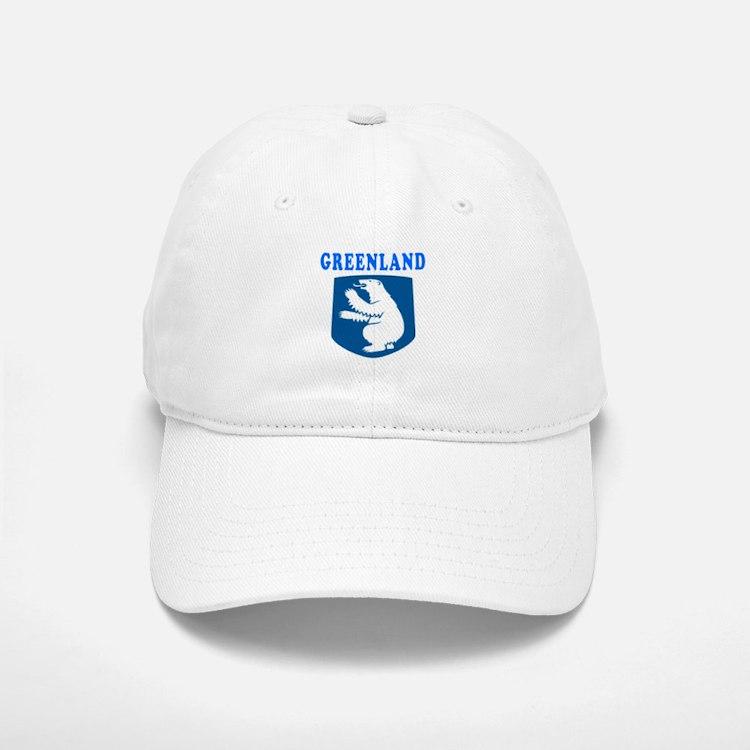 Greenland Coat Of Arms Designs Baseball Baseball Cap