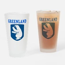 Greenland Coat Of Arms Designs Drinking Glass