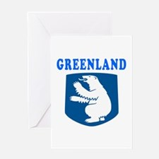 Greenland Coat Of Arms Designs Greeting Card