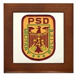 230th MP Company Framed Tile