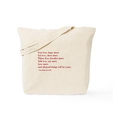 swedish-proverb-bod-burg Tote Bag