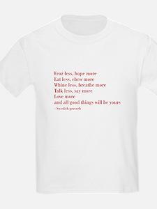 swedish-proverb-bod-burg T-Shirt