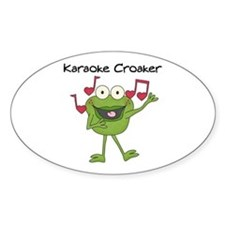 Karaoke Croaker Decal
