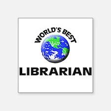 World's Best Librarian Sticker