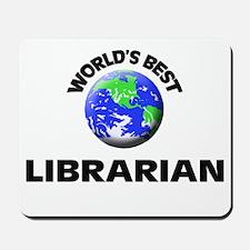 World's Best Librarian Mousepad