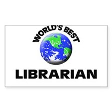 World's Best Librarian Decal
