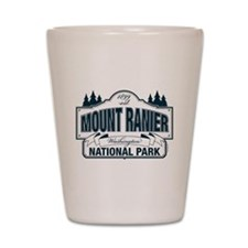 Mt Ranier NP Shot Glass