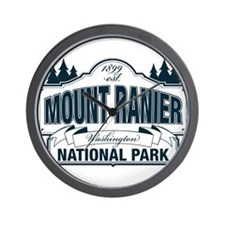 Mt Ranier NP Wall Clock