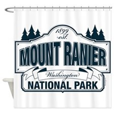 Mt Ranier NP Shower Curtain