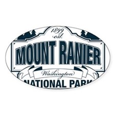 Mt Ranier NP Decal