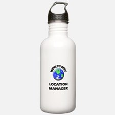 World's Best Location Manager Water Bottle