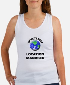 World's Best Location Manager Tank Top