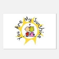 In Love You Are My Sunshine Postcards (Package of