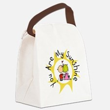 In Love You Are My Sunshine Canvas Lunch Bag