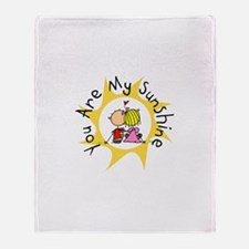In Love You Are My Sunshine Throw Blanket