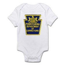 Pensylvania Corrections Infant Bodysuit