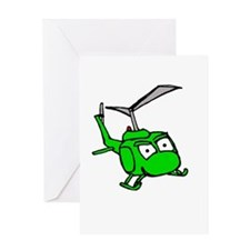 UH-1 Greeting Card
