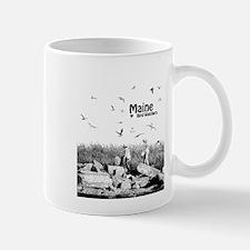 Maine loves Bird Watchers Mug