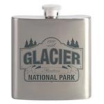 Glacier National Park Flask