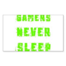 Gamers never sleep Decal