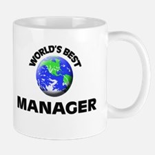 World's Best Manager Mug