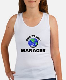 World's Best Manager Tank Top