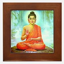Big Buddha Framed Tile