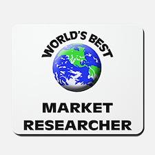 World's Best Market Researcher Mousepad