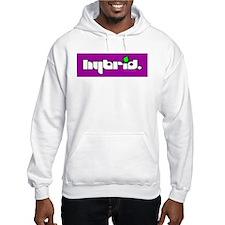 HYBRID - Logo on color Hoodie