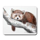 Red panda mousepad Classic Mousepad