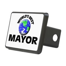 World's Best Mayor Hitch Cover
