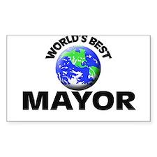 World's Best Mayor Decal