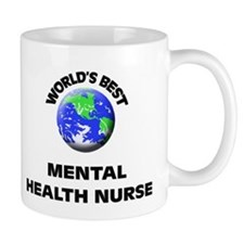 World's Best Mental Health Nurse Mug